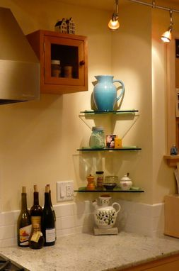 Custom Made One Of A Kind Kitchen Cabinets By Laurie