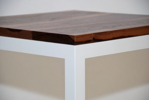 Custom Made Blanco Cube Coffee Table