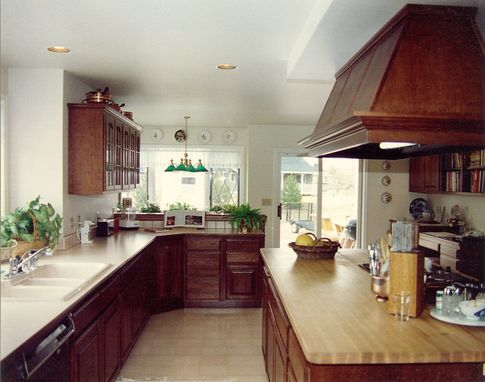Custom Made Big Family Sized Kitchen Remodel