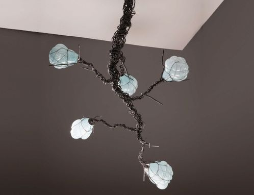 Custom Made Forest Branch Chandelier