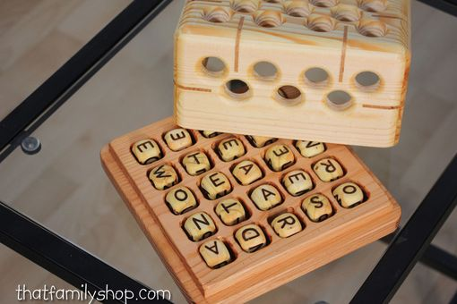 Custom Made Big Boggle  |  Heirloom-Quality Word Game