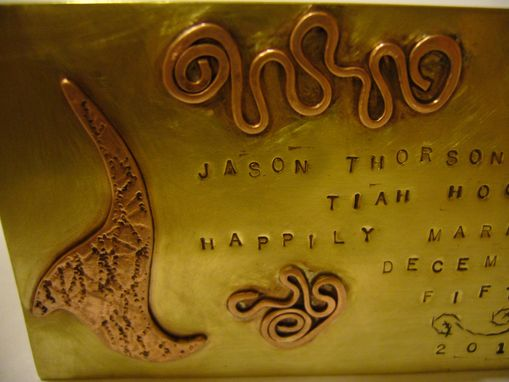 Custom Made Custom Memory Plaque