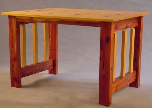 Custom Made Red Cedar & Pine Table