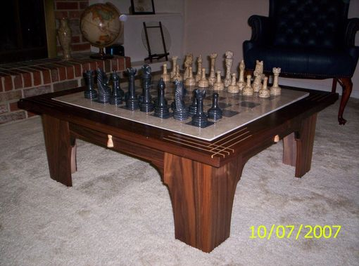 Custom Made Low Chess Table