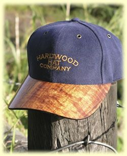 223bc92a34be94 Custom Made Hardwoods Hats And Visors by Windline Pacific Woodworks ...