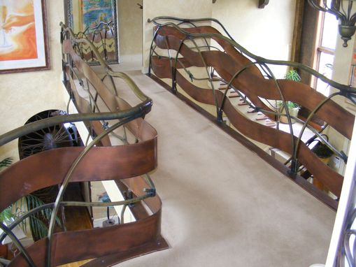 Custom Made Ribbon Railing