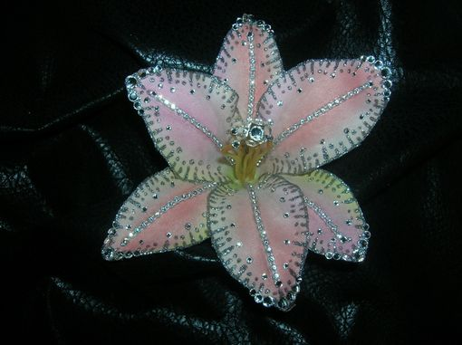 Custom Made Hair Flower Clip