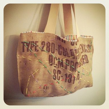 Custom Made Large Tote