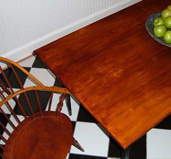 Custom Made Solid Cherry Table