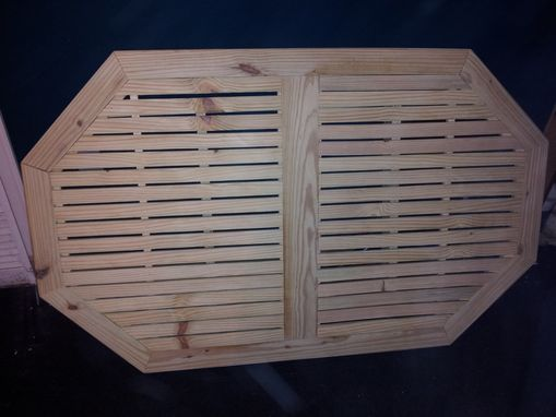 Custom Made Hexagonal Patio Table