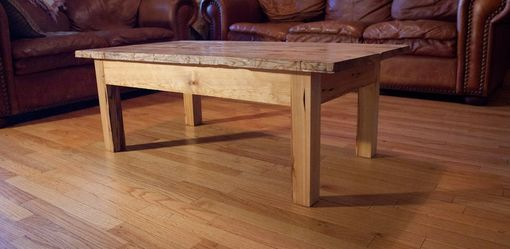 Custom Made Rustic Coffee Table