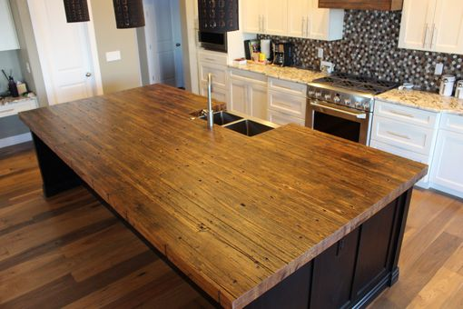 Custom Made Reclaimed Oak Butcher Block - Islands, Countertops, Dining / Conference Tables,