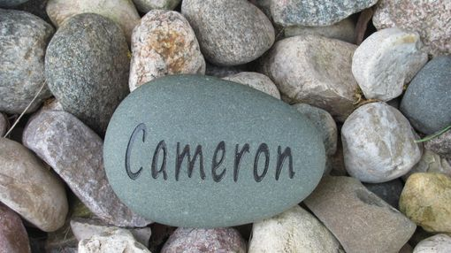 Custom Made Personalized Rock