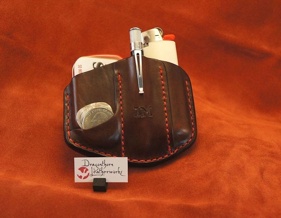 Custom Leather Pocket Carry System Case Sheath By