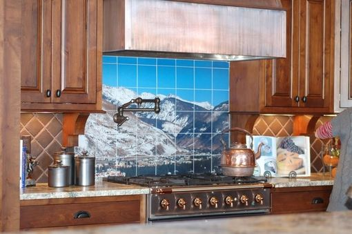 Custom Made Custom Tile Mural From Your Photography!