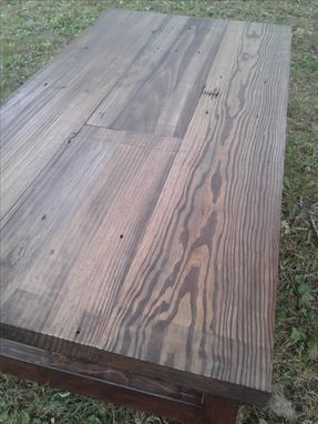 Custom Made Reclaimed Farmhouse Coffee Table