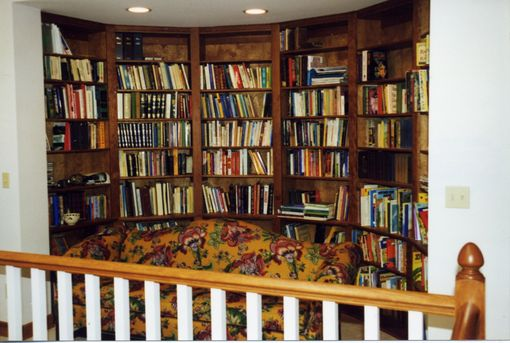 Custom Made Semi Circular Library