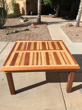 Custom Made *Available* (5'X5') Redwood Honey