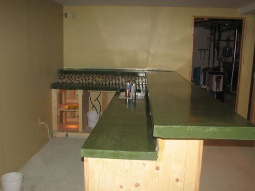 Custom Made Green Bartop