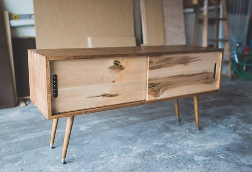 Custom Made Mid-Century Modern Tv Stand