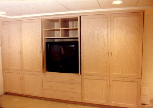 Custom Made Entertainment And Storage