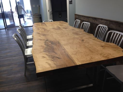 Custom Made Custom Maple  Conference Table