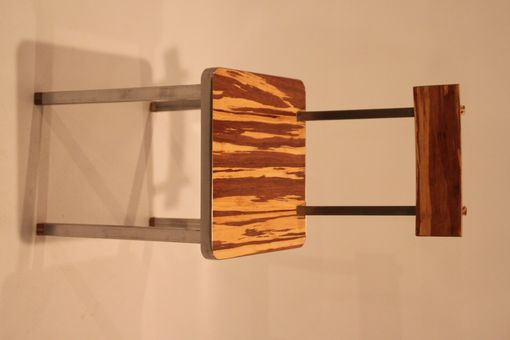 Custom Made Custom Bamboo And Stainless Chair
