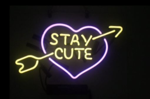 Custom Made Stay Cute Neon Sign