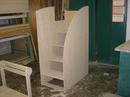 Custom Made Stairway Bunk