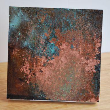 Custom Copper Patina Wall Art Various By Ck Valenti