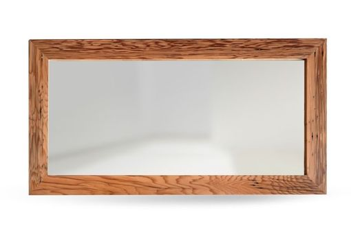 Custom Made Redwood Mirror