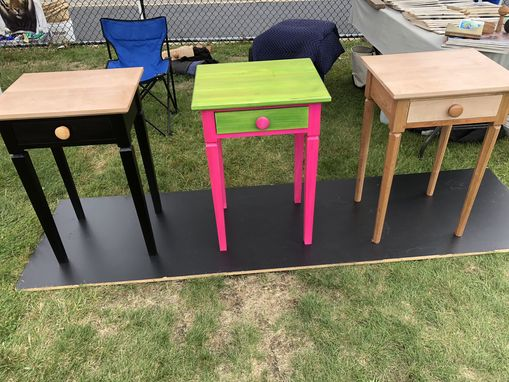 Custom Made Colorful Side Tables