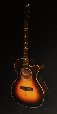 Custom Made Tobacco Sunburst Gc Cutaway