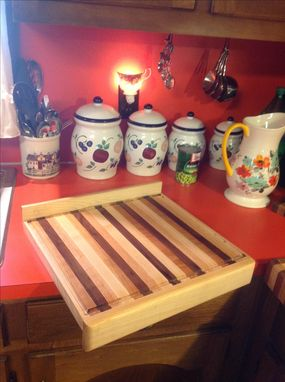 Custom Made Counter Top Cutting Board