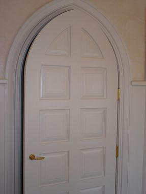Custom Made Gothic Style Door