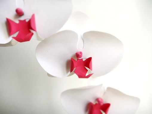 Custom Made Paper Phalaenopsis Orchids