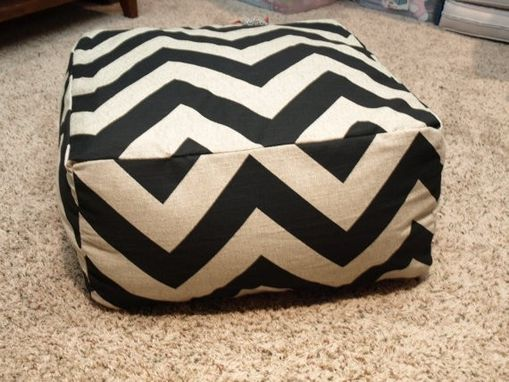 Custom Made Pouf Cushion 'Modern Day Replacement To The Bean Bag'