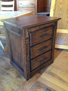 Custom Made Distressed Night Stand