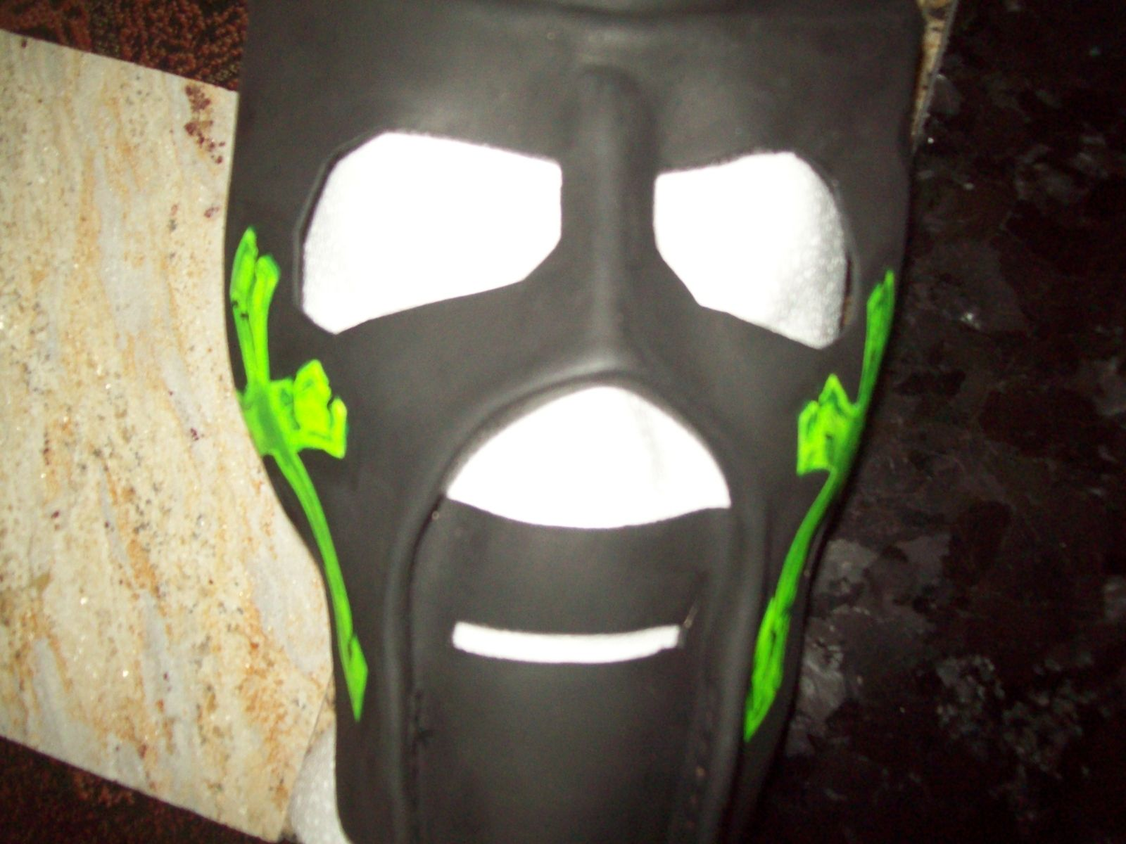 Hand Crafted Mask For Pro Wrestling Kinda Like The One Kane Used In