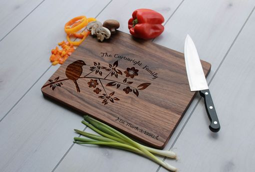 Custom Made Personalized Cutting Board, Engraved Cutting Board, Custom Wedding Gift – Cb-Wal-Cartwright Family