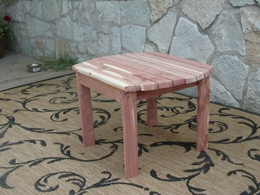 Custom Made Adirondack Side Table