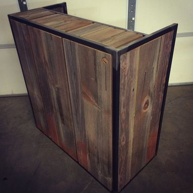 Hand Crafted Small Shop Reception Desk Point Of Sale