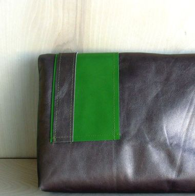 Custom Made Purse, Soft Leather Clutch