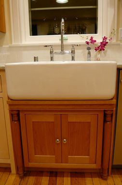 Custom Made One-Of-A-Kind Kitchen Cabinets