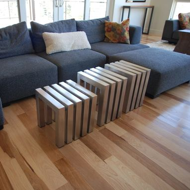 Custom Made Custom Stainless Steel Linear Bench