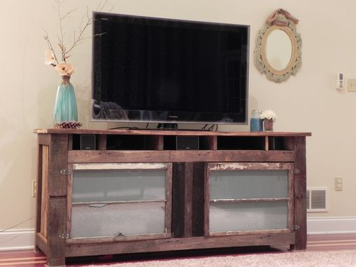 Custom Made Entertainment Center (Roscher Collection)