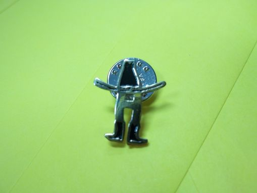Custom Made Small Hat / Lapel Pins Rodeo Theme