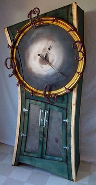 Custom Made Cupboard Clock