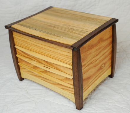 Custom Made Unique 4 Compartment Jewelry Box