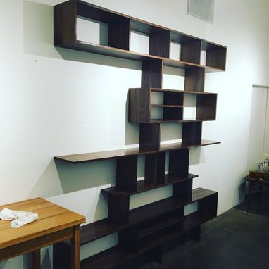 Custom Made Detroit Shelving Unit